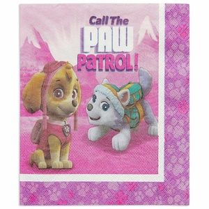 Paw Patrol Large Lunch Napkins Call The Paw Patrol
